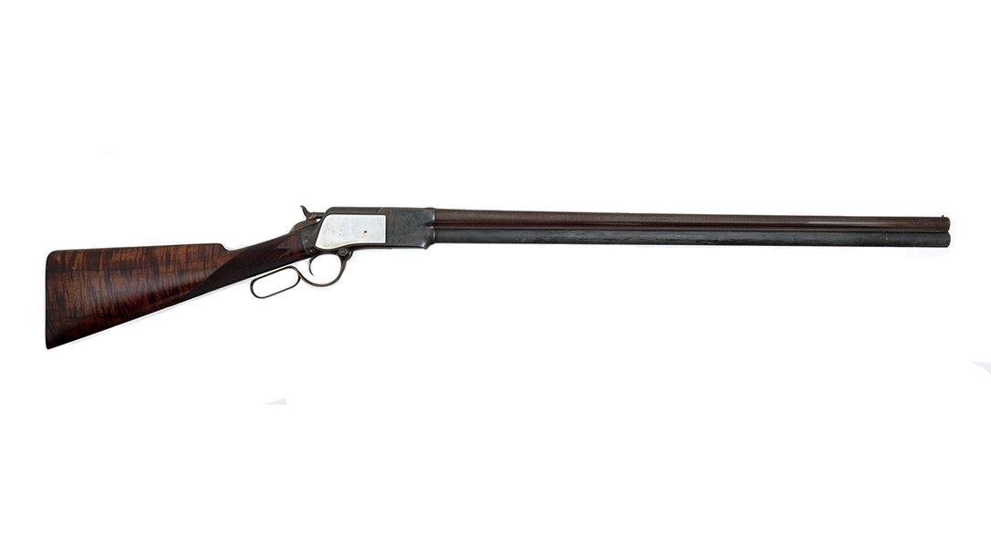 Oliver Winchester lever-action shotgun profile