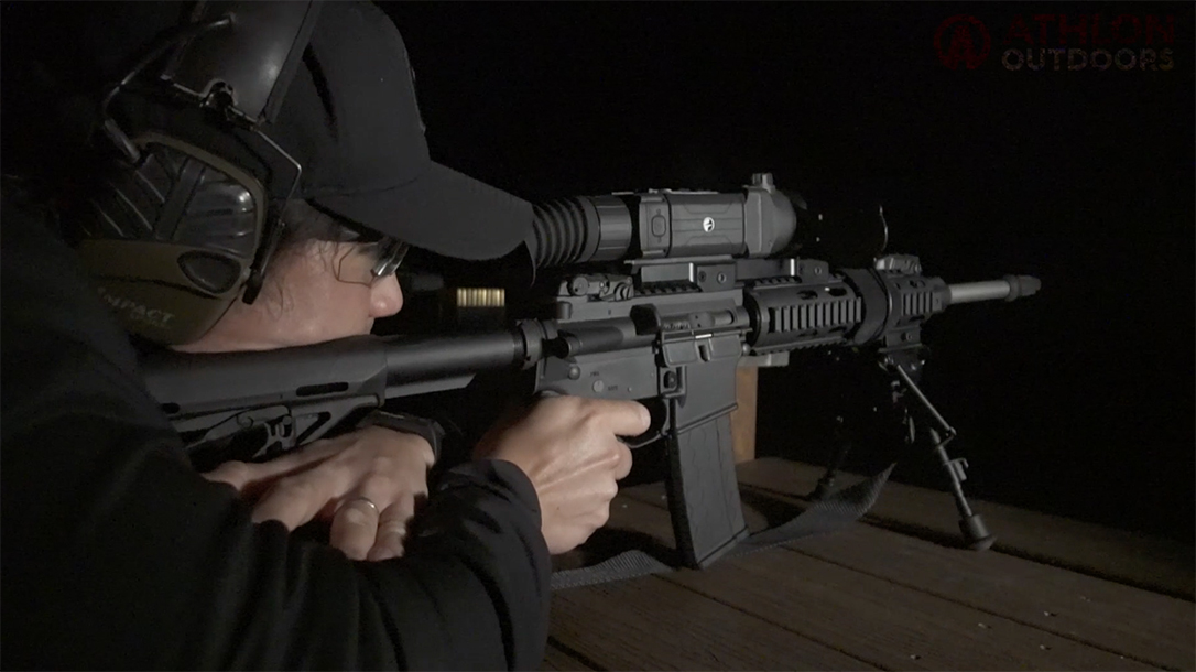 Pulsar Trail XP50 Thermal Imaging Sight Athlon Outdoors Rendezvous Aaron Barruga
