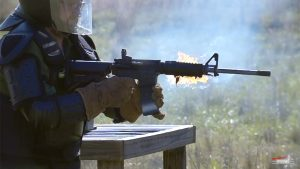 smith & wesson m&p15 sport ii full-auto meltdown test
