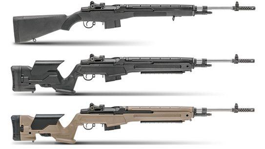springfield m1a rifles