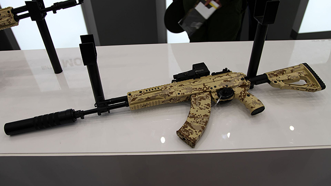 ak-12 AK-15 rifle left profile