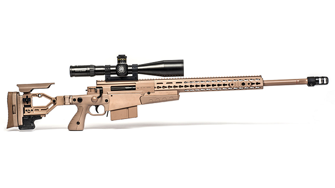 Accuracy International AXMC big-bore rifles