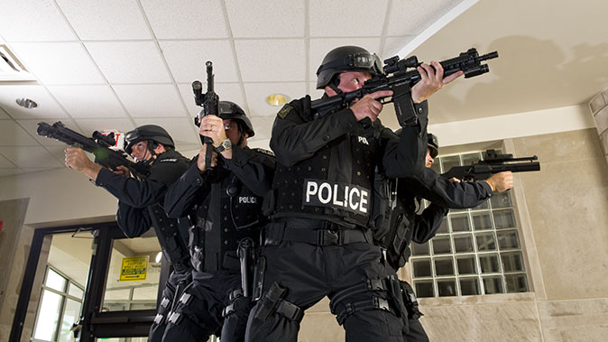 active shooter swat team