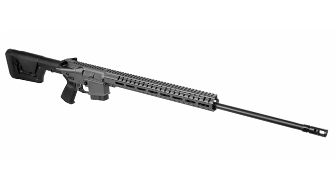 CMMG Mk4 DTR2 rifle right angle