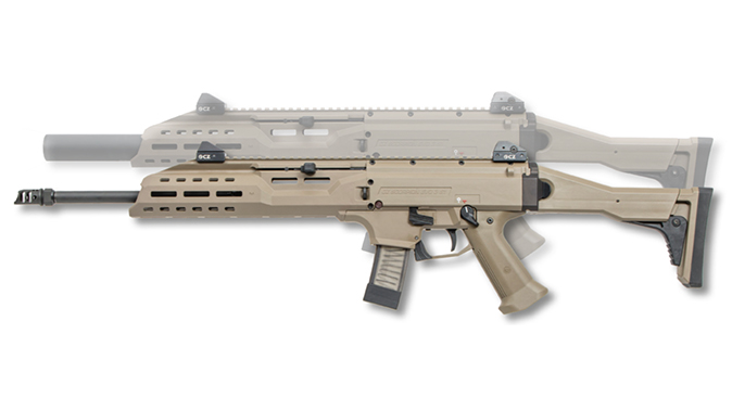 CZ Scorpion EVO 3 S1 Carbine FDE left profile