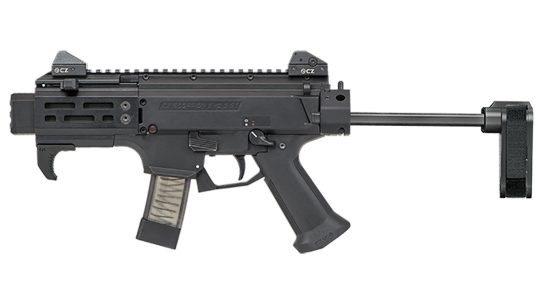 CZ Scorpion EVO 3 S2 Pistol Micro with sb tactical brace