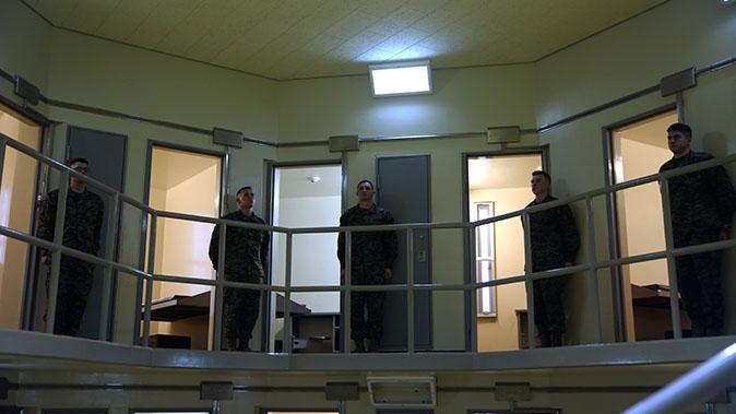 Camp Hansen CCU brig marines