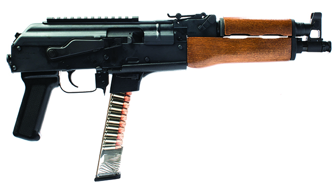century arms draco NAK9 Pistol right profile