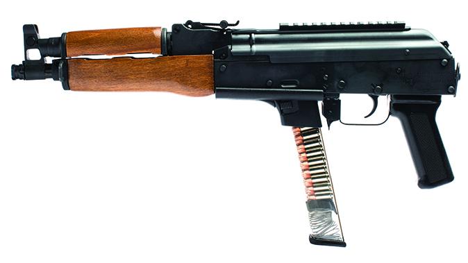 century arms draco NAK9 Pistol left profile