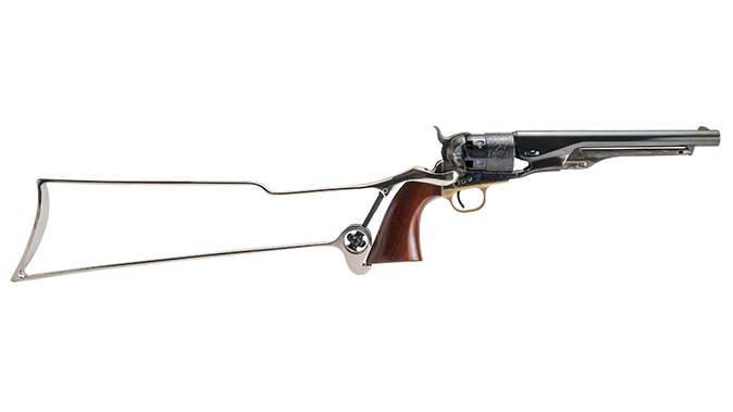 Cimarron Skeletal Shoulder Stock cowboy guns