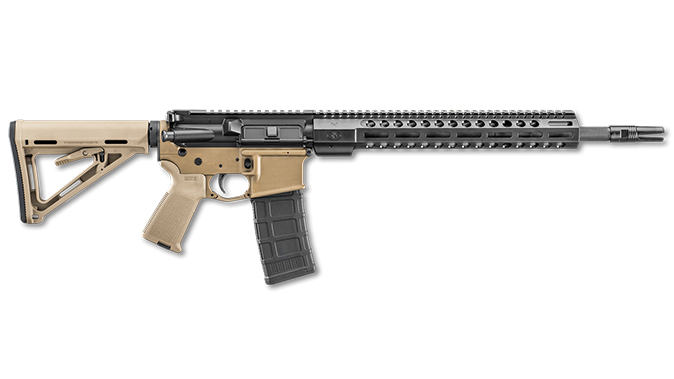 FN FDE BLK fn 15 tactical ii rifle right profile