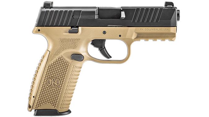 FN FDE BLK FN 509 pistol right profile