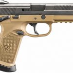FN FDE BLK fnx-45 pistol right profile