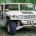 surplus humvee front view