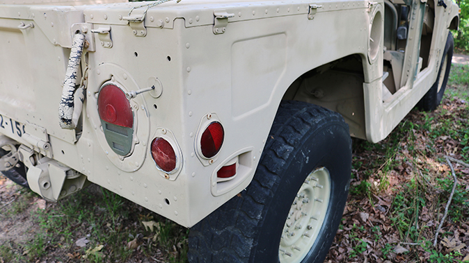 surplus humvee lights