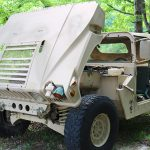 surplus humvee hood