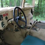 surplus humvee inside