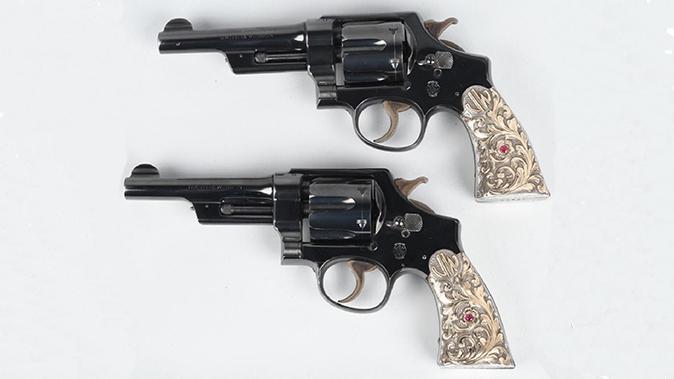 firearms auction john wayne's revolvers
