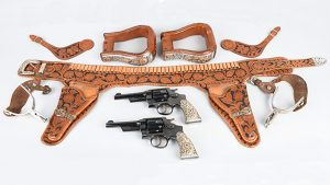 john wayne matching revolvers firearms auction