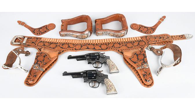firearms auction john wayne revolvers