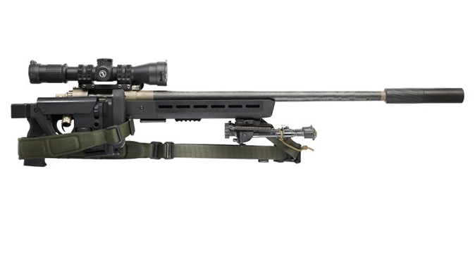 magpul Pro 700 Rifle Chassis folded