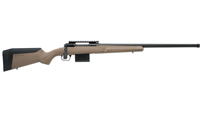 savage model 110 tactical desert right profile