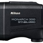 Nikon Monarch 3000 Stabilized rangefinder left profile