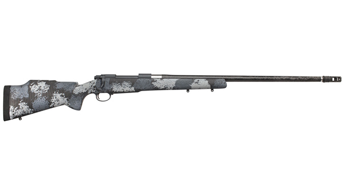 Nosler M48 Long Range Carbon rifle right profile
