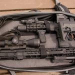 PWS MK107 Mod 2 rifle bag closeup