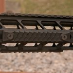 PWS MK107 Mod 2 rifle rail scales