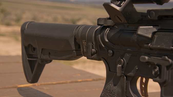 PWS MK107 Mod 2 rifle rear stock
