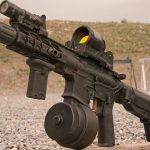 PWS MK107 Mod 2 rifle surefire light
