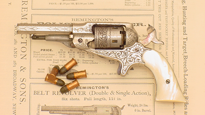 remington revolvers new model pocket revolver