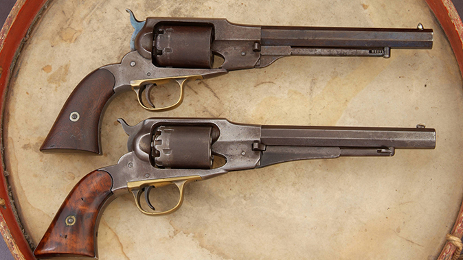 remington revolvers beals army and navy models