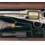 remington revolvers gold