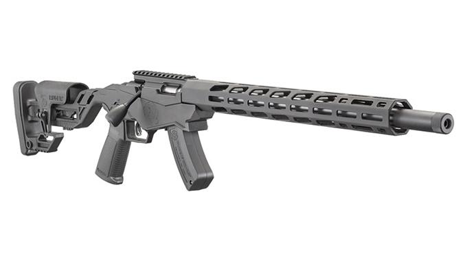 ruger Precision Rimfire Rifle right angle
