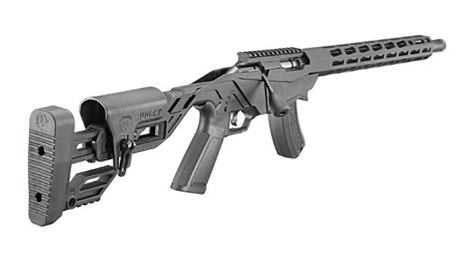 ruger Precision Rimfire Rifle rear angle