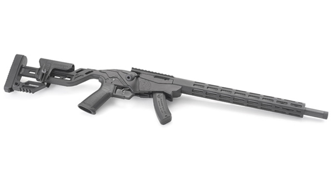 ruger Precision Rimfire Rifle side angle