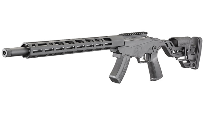 ruger Precision Rimfire Rifle left angle