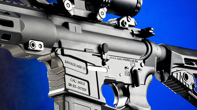 Savage MSR 15 Recon rifle receivers