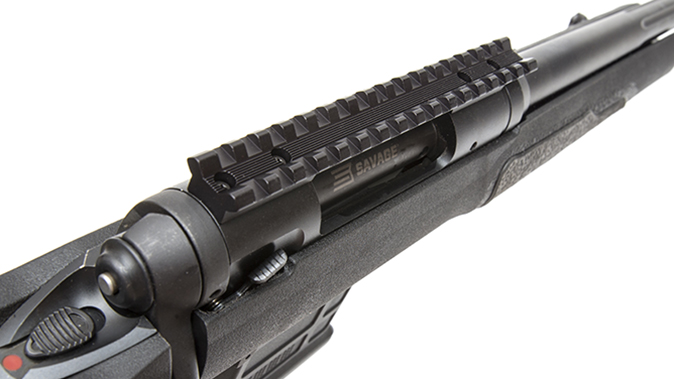 savage model 10 grs rifle rail