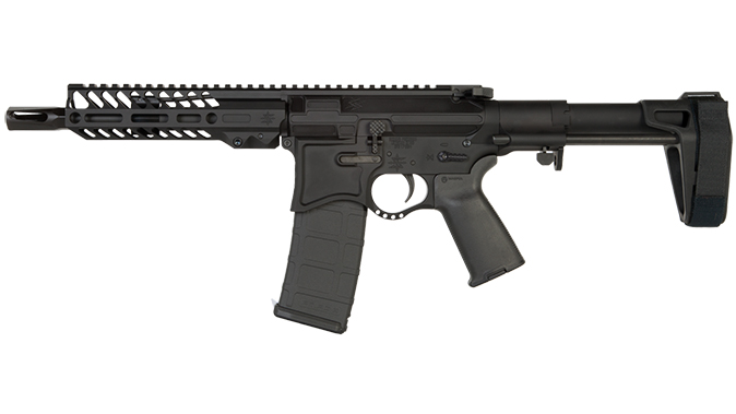 Seekins NXP8 ar pistol left profile