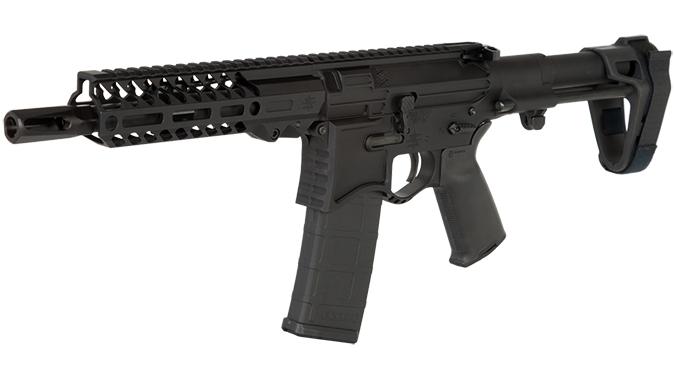 Seekins NXP8 ar pistol left angle