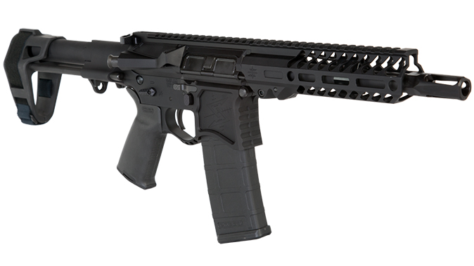 Seekins NXP8 ar pistol right angle