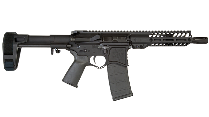 Seekins NXP8 ar pistol right profile