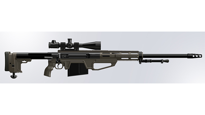 Steel Core Cyclone HSR big-bore rifles