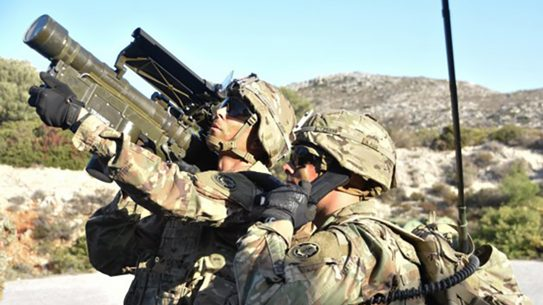 army stinger missile training
