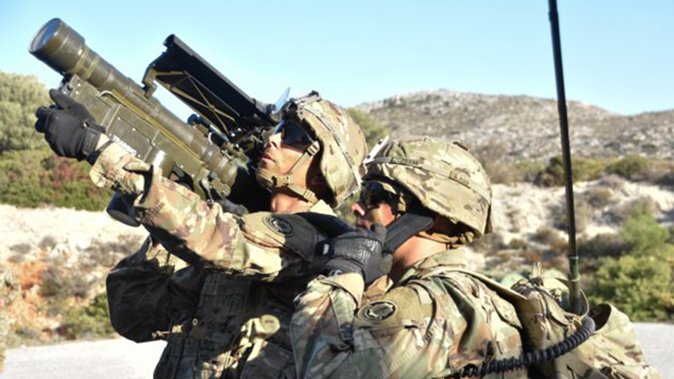 FIM-92 Stinger missile training