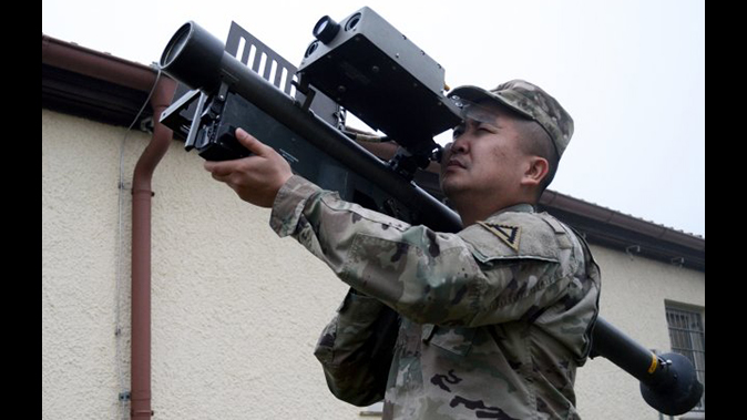 FIM-92 Stinger missile training system