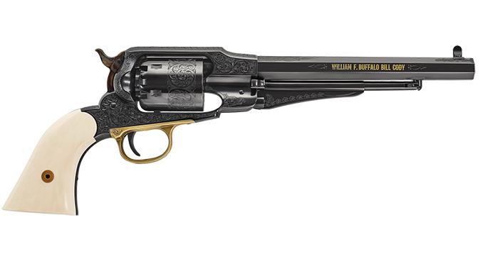 Uberti 1858 Buffalo Bill Centennial cowboy guns